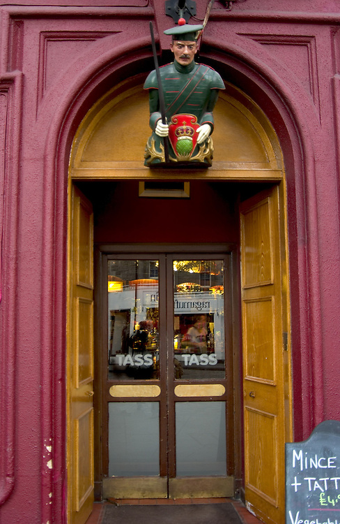 The Tass Pub exterior, Edinburgh<br />