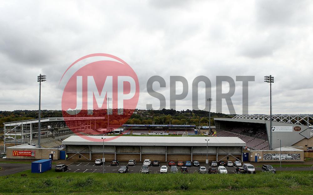 Sixfields Stadium, home of Northampton Town - Mandatory byline: Robbie Stephenson/JMP - 07966 386802 - 10/10/2015 - FOOTBALL - Sixfields Stadium - Northampton, England - Northampton Town v Hartlepool - Sky Bet League Two