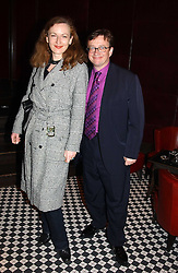 SEBASTIAN CONRAN and GERTRUDE THOME at a party to celebrate the launch of Ladies' Day at The Vodafone Derby Festival held at Frankie's Bar & Grill, 3 Yeomans Row, London SW7 on 19th April 2005.<br /><br />NON EXCLUSIVE - WORLD RIGHTS