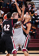 January 5, 2012: The Southern Nazarene University Crimson Storm play against the Oklahoma Christian University Eagles at the Eagles Nest on the campus of Oklahoma Christian University.