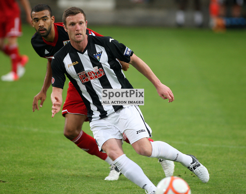 Dunfermline Athletic v Bristol City Pre-Season Friendly East End Park 1 August 2012.Andy Kirk in action...(c) Craig Brown | StockPix.eu