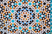Maroc, région de Meknès-Tafilalet, cité impériale de Meknès classée Patrimoine Mondial de l'UNESCO, Medersa Bou Inania, école coranique // Morocco, Meknes Tafilalt region, historic city of Meknes, listed as World Heritage by UNESCO, Medersa Bou Inania, coranic school