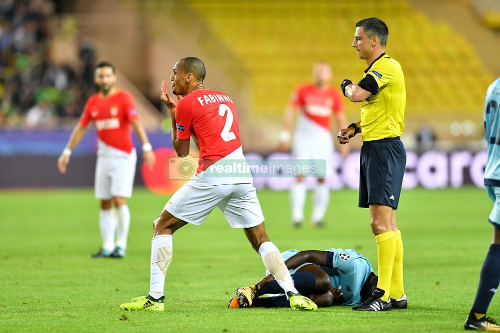 September 26, 2017 - Monaco, France - 02 FABINHO (mon) - COLERE (Credit Image: © Panoramic via ZUMA Press)