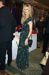 Model LAURA BAILEY at the Chain of Hope 10th Anniversary Ball held at The Dorchester, Park Lane, London on 1st November 2005.<br />