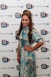 © Licensed to London News Pictures. 31/07/2012. London, UK.  Rebecca Ferguson poses for publicity shots at BT London Live at Hyde Park. Rebecca Caroline Ferguson is a British singer and songwriter. Ferguson came to prominence in 2010 when she became the runner-up on the seventh series of the The X Factor.  Photo credit : Richard Isaac/LNP