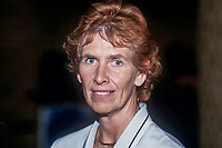 Angela Rumbold, MP, Conservative Party, UK, junior education minister, October 1986, 19861008AR<br />