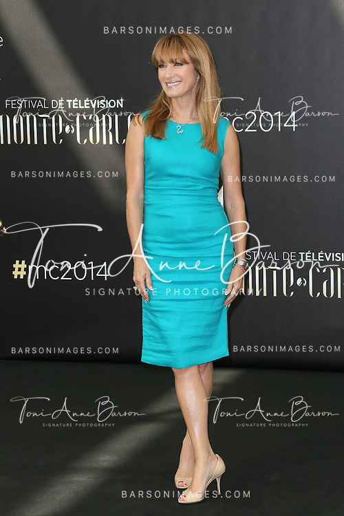 MONTE-CARLO, MONACO - JUNE 11:  Jane Seymour attends photocall at the Grimaldi Forum on June 11, 2014 in Monte-Carlo, Monaco.  (Photo by Tony Barson/FilmMagic)