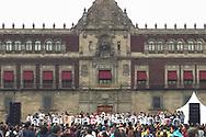 Marcha conmemorativa a los estudiantes de Ayotzinapa desaparecidos 26 de septiembre 2016 en la ciudad de Mexico, SEP 26,2018. Lamarcha que se desarrollo bajo fuerte lluvia culmino en la plaza del Zocalo con la declaración del presidente electo Manuel Lopez Obrador en el que se comprometió a crear una comisión de la verdad Photo: Miguel Villela/Imagenes Libres.