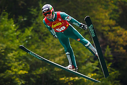 Zupancic Miran during national competition in Ski Jumping, 8th of October, 2016, Kranj,  Slovenia. Photo by Grega Valancic / Sportida