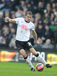 Stephen Warnock  Derby County, Derby County v Reading, FA Cup 5th Round, The Ipro Stadium, Saturday 14th Febuary 2015