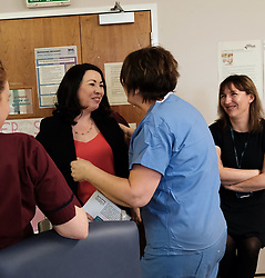 Scottish Labour leader Richard Leonard and Health spokesperson Monica Lennon met with midwives in NHS Lanarkshire, ahead of a Scottish Labour debate which calls on the SNP Government to invest an additional &pound;10 million for the implementation of Best Start and to investigate claims that midwives are not being given sufficient resources to do their jobs.<br /> <br /> Scottish Labour will use parliamentary time this week to call on the SNP Government to investigate reports that midwives do not have enough resources to do their jobs safely.<br /> <br /> Concerns have been raised in an open letter by midwives in NHS Lothian, which claim they do not have enough computers, equipment and pool cars.<br /> <br /> Scottish Labour have also called for an additional &pound;10 million to be allocated towards the implementation of the Best Start recommendations, to ensure that midwives are given adequate time, training and resources.<br /> <br /> Scottish Labour Health Spokesperson Monica Lennon said:<br /> <br /> &ldquo;Midwives play a crucial role in caring for women and babies. The best way of recognising their contribution to our NHS is by making sure they have enough resources to do their jobs safely.<br /> <br /> &ldquo;That&rsquo;s why Scottish Labour is calling on the SNP Government to investigate reports about a lack of equipment and resources, and to provide an additional &pound;10 million towards the implementation of the Best Start recommendations.<br /> <br /> &ldquo;The Health Secretary must listen to the concerns of midwives and take urgent action to address the workforce crisis.&rdquo;<br /> <br /> Pictured: Monica Lennon meets Ella Sinton, the Charge Midwife who delivered her daughter Isabella in the Wishaw hospital<br /> <br /> Alex Todd | Edinburgh Elite media