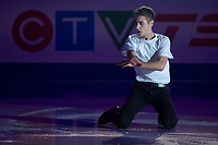 KELOWNA, BC - OCTOBER 24:  Men's competitor Matteo Rizzo of Italy performs in the gala of Skate Canada International at Prospera Place on October 24, 2019 in Kelowna, Canada. (Photo by Marissa Baecker/Shoot the Breeze)