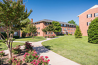 Exterior image of the Park at Arlington Ridge apartents in Virginia by Jeffrey Sauers of Commercial Photographics, Architectural Photo Artistry in Washington DC, Virginia to Florida and PA to New England