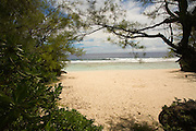 Taungaroro Beach ( Survivor Beach ), Aitu Island, Cook Islands, Polynesia