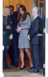Catherine, Duchess of Cambridge visits Hope House, an Action on Addiction women's treatment centre in London, UK. 19/02/2013<br />