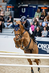 WOJCIANIEC Wojciech (POL), Chintablue<br /> Göteborg - Gothenburg Horse Show 2019 <br /> Gothenburg Trophy presented by VOLVO<br /> Int. jumping competition with jump-off (1.55 m)<br /> Longines FEI Jumping World Cup™ Final and FEI Dressage World Cup™ Final<br /> 06. April 2019<br /> © www.sportfotos-lafrentz.de/Stefan Lafrentz