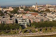 Aerial view of Charleston, South Carolina.