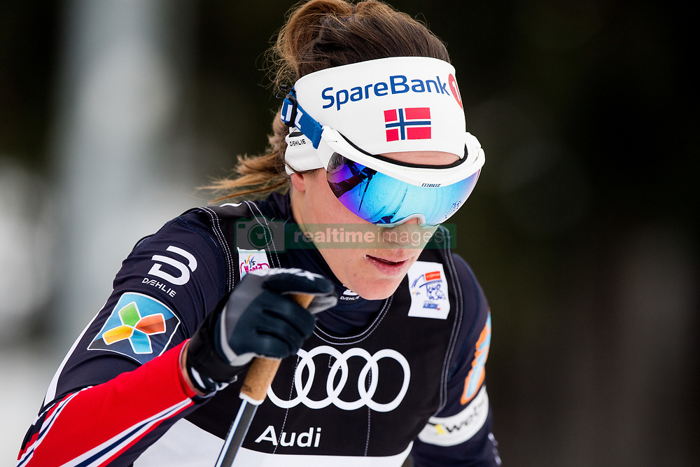 January 6, 2018 - Val Di Fiemme, ITALY - 180106 Heidi Weng of Norway competes in women's 10km mass start classic technique during Tour de Ski on January 6, 2018 in Val di Fiemme..Photo: Jon Olav Nesvold / BILDBYRN / kod JE / 160122 (Credit Image: © Jon Olav Nesvold/Bildbyran via ZUMA Wire)