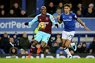 Everton v West Ham, 29 Nov 2017