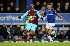 Everton v West Ham, 29 Nov 2017
