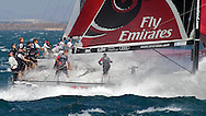 ITALY, Sardinia, Cagliari, AUDI MedCup, 25th September 2010,  Region of Sardinia Trophy, Emirates Team New Zealand.