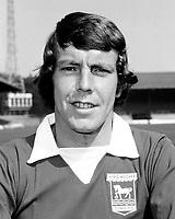Fotball<br /> England <br /> Foto: Colorsport/Digitalsport<br /> NORWAY ONLY<br /> <br /> Allan Hunter - Ipswich Town. 1972/73