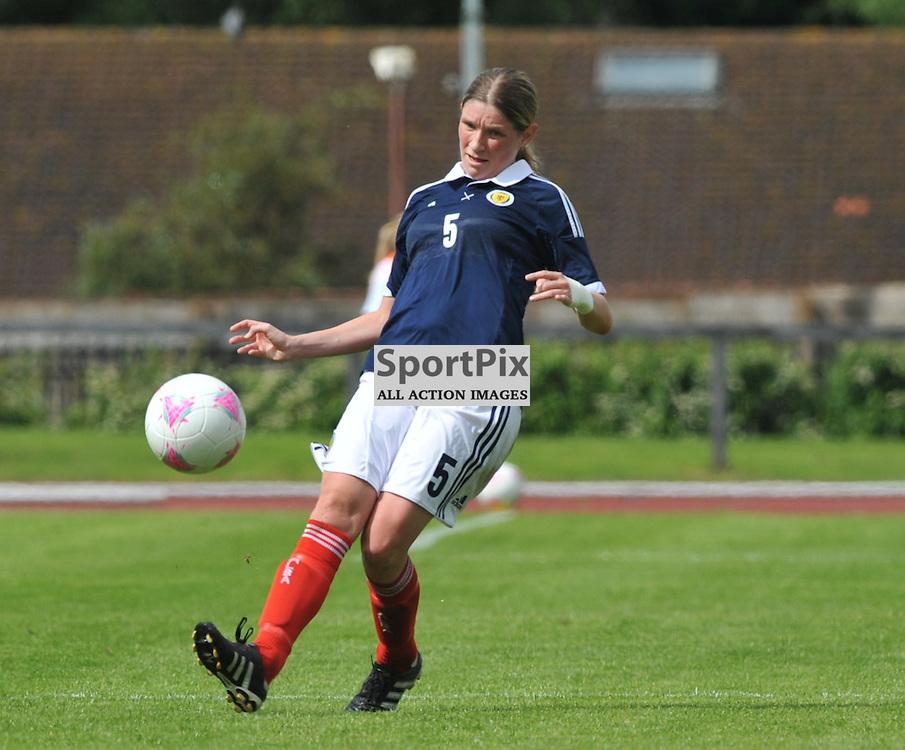 Scotland's Leanne Ross during the Cameroon vs Scotland in pre Olympic warm up match. 15th July 2012.