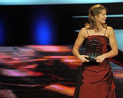 12-12-2011 ALGEMEEN: NOS NOC NSF SPORTGALA: DEN HAAG<br /> Dafne Schippers is verkozen tot talent van het jaar tijdens het NOC NSF Sportgala 2011 in Den Haag<br /> ©2011-WWW.FOTOHOOGENDOORN.NL
