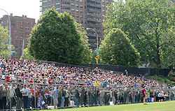 May 6, 2012; Bronx, NY; USA; Fans watch the match between Sligo and New York at Gaelic Park in the Bronx.