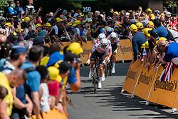 Trek - Segafredo (USA,WT,Trek) during stage 2 TTT from Bruxelles to Brussel of the 106th Tour de France, 7 July 2019. Photo by Pim Nijland / PelotonPhotos.com   All photos usage must carry mandatory copyright credit (Peloton Photos   Pim Nijland)