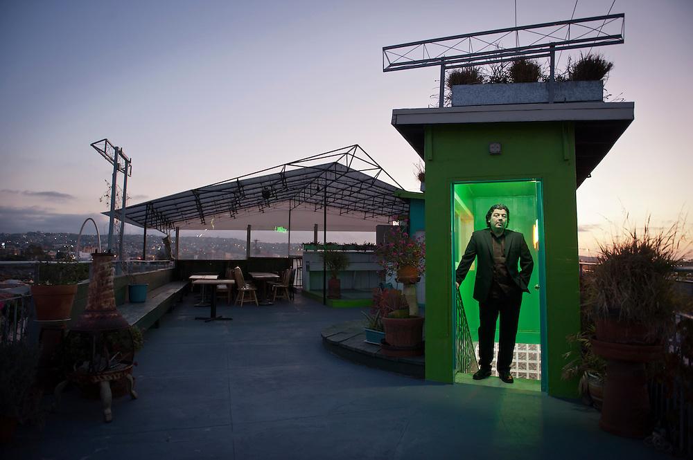 Leobardo Sarabia, art promoter, Tijuana. ..@ Stefan Falke.http://www.stefanfalke.com/..