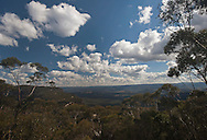 A view of the Blue Mountains