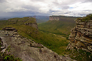 Scenic views of the Chapada Diamantina National Park near Lencois, Brazil.