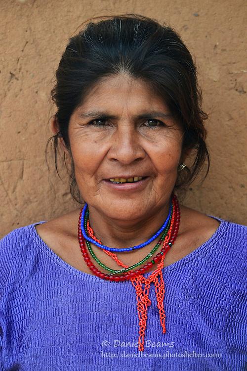 Guarani woman in Yapiroa, Izozog, Santa Cruz, Bolivia