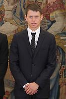 Steve Rabat during Royal Audience with King Felipe VI of Spain at Zarzuela Palace in Madrid, Spain. November 20, 2014. (ALTERPHOTOS/Victor Blanco)