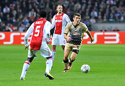 02.11.2011, Amsterdam Arena. Amsterdam, NED, UEFA Champions League, Vorrunde, Ajax Amsterdam (NED) vs Dinamo Zagreb (CRO), im Bild Mateo Kovacic// during Ajax Amsterdam (NED) vs Dinamo Zagreb (CRO), at Amsterdam Arena, Amsterdam, NED, 2011-11-02. EXPA Pictures © 2011, PhotoCredit: EXPA/ nph/                                                                                                     Foto ©  nph / PIXSELL / Marko Lukunic       ****** out of GER / CRO  / BEL ******