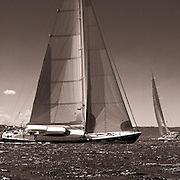 Ganesha sailing in the Dubois Cup regatta, day 1.