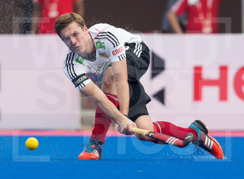 BHUBANESWAR  (INDIA) -   Argentina vs Germany on day 3 of the Hero Champions Trophy Hockey.  Mathias Müller of Germany. Photo KOEN SUYK