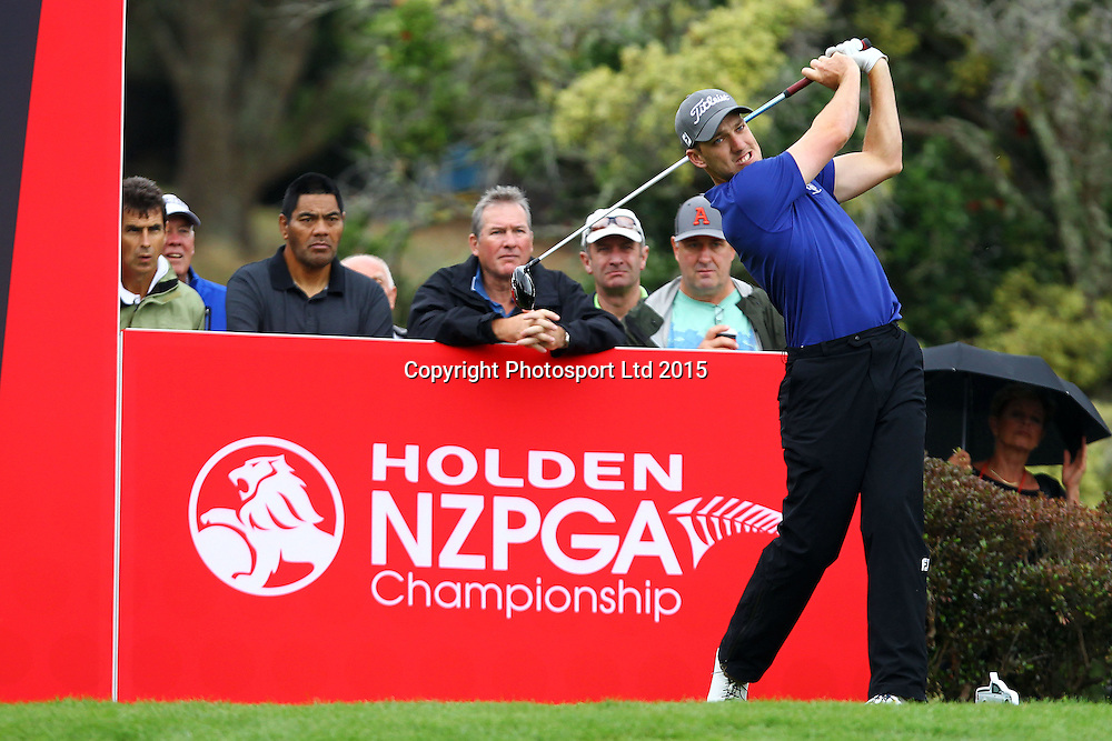 Mathew Perry during the Holden NZPGA Championship at Remuera Golf Course in Auckland, New Zealand. Friday 6 March 2015. Copyright photo: William Booth / www.Photosport.co.nz