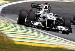 Motorsports / Formula 1: World Championship 2010, GP of Brazil, 22 Nick Heidfeld (GER, BMW Sauber F1 Team),