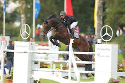 Kayser, Julia, Sterrehof´s Cayetano Z<br /> Donaueschingen 2013<br /> Springen, Ricosta<br /> © www.sportfotos-lafrentz.de / Stefan Lafrentz