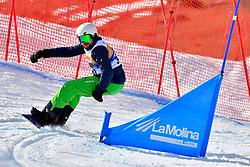 PLEBAN Joe, SB-LL2, USA, Snowboard Cross at the WPSB_2019 Para Snowboard World Cup, La Molina, Spain