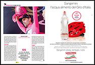 Giro d'Italia 2017, Sportweek RCS.<br /> Sportweek n21 03-06-2017 pag9