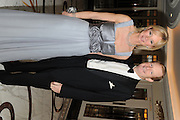 THE COUNTESS OF DERBY; THE EARL OF DERBY, The Cartier Racing Awards. The Ballroom, Dorchester hotel. Park Lane. London. 15 November 2011. <br /> <br />  , -DO NOT ARCHIVE-© Copyright Photograph by Dafydd Jones. 248 Clapham Rd. London SW9 0PZ. Tel 0207 820 0771. www.dafjones.com.