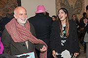 FRANCESCO CLEMENTE; NOOR FARES, Mandala for Crusoe, Exhibition of work by Francesco Clemente. Blain/Southern. Hanover Sq. London. 29 November 2012