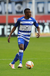 15.04.2016, Schauinsland Reisen Arena, Duisburg, GER, 2. FBL, MSV Duisburg vs TSV 1860 Muenchen, 30. Runde, im Bild Victor Obinna (MSV Duisburg) // during the 2nd German Bundesliga 30th round match between MSV Duisburg and TSV 1860 Muenchen at the Schauinsland Reisen Arena in Duisburg, Germany on 2016/04/15. EXPA Pictures © 2016, PhotoCredit: EXPA/ Eibner-Pressefoto/ Thienel<br /> <br /> *****ATTENTION - OUT of GER*****