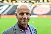 Milton Keynes Dons manager Paul Tisdale during the EFL Sky Bet League 2 match between Milton Keynes Dons and Grimsby Town FC at stadium:mk, Milton Keynes, England on 21 August 2018.