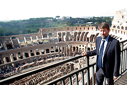 Opening of the IV and V levels of Colosseum in Rome. 03 Oct 2017 Pictured: Opening of the IV and V levels of Colosseum. Photo credit: MEGA TheMegaAgency.com +1 888 505 6342