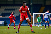 Swindon Town Swindon Town midfielder, on loan from Brighton & Hove Albion, Rohan Ince (23)   during the EFL Sky Bet League 1 match between Bury and Swindon Town at the JD Stadium, Bury, England on 11 February 2017. Photo by Simon Davies.