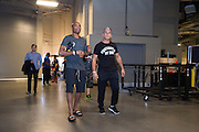 LAS VEGAS, NV - JULY 8:  Anderson Silva enters the building before the UFC 200 weigh-ins at T-Mobile Arena on July 8, 2016 in Las Vegas, Nevada. (Photo by Cooper Neill/Zuffa LLC/Zuffa LLC via Getty Images) *** Local Caption *** Anderson Silva